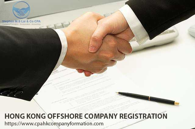 CPA Hk Company Provide Hong Kong Offshore Company Registration Services.