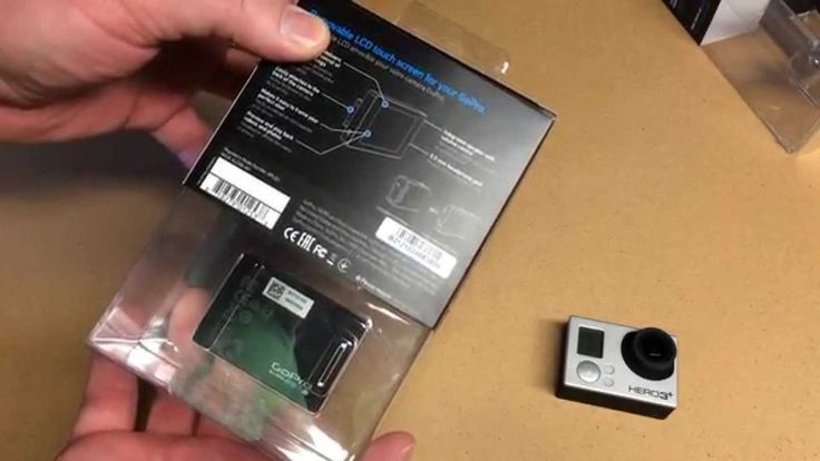 GoPro LCD Touch BacPac ALCDB-401 Quick Unboxing