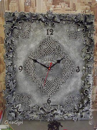 Мастер-класс Материалы и инструменты Поделка изделие Лепка Часовая мистерия  Фанера Фарфор холодный фото 16