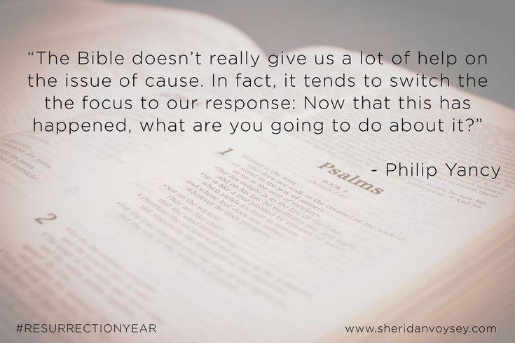 The Bible - Philip Yancey #ResurrectionYear
