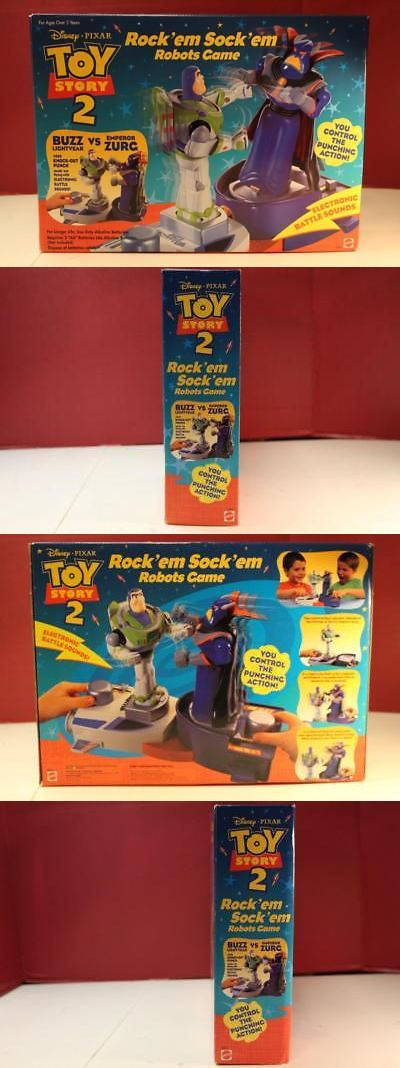 Toy Story 19223: Toy Story 2 Buzz And Zurg Rock Em Sock Em Robots Game 1999 Disney Pixar Mattel -> BUY IT NOW ONLY: $70 on eBay!