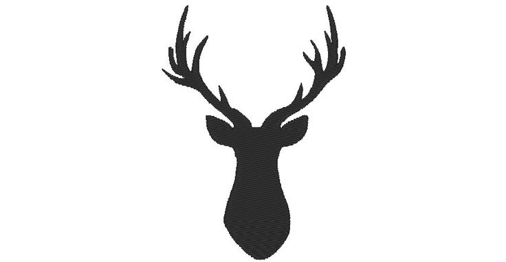 Buck deer embroidery designs, many mini sizes (.pes .hus .dst .vp3 .vip .xxx .exp .jef)  - embroidery fillstitch embroidery design by FontsHeaven on Etsy https://www.etsy.com/listing/287569803/buck-deer-embroidery-designs-many-mini