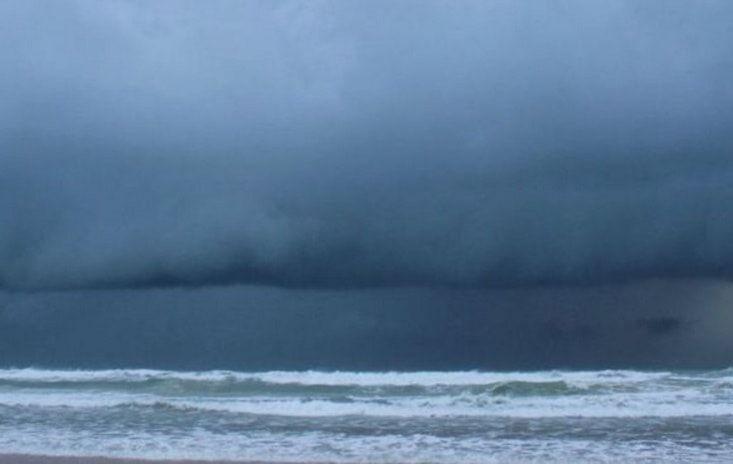 La ola mas grande del mundo registrada en el Océano Atlántico.