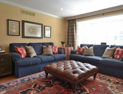 41 best Coral Navy  Brown Living Room images on