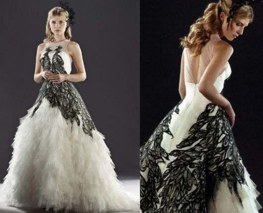 fleur delacour wedding dress alexander mcqueen