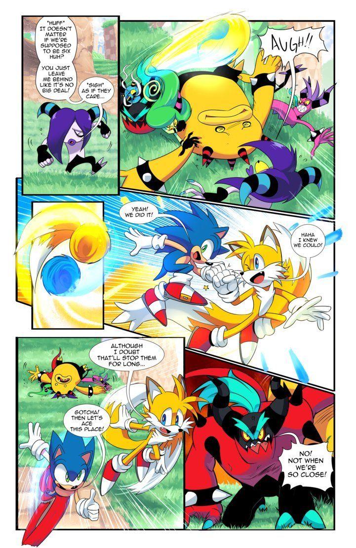 Lala S Blog Brotherhood S Twist Comic I M Going To Put The In 2020 Comics Sonic Art Comic Artist