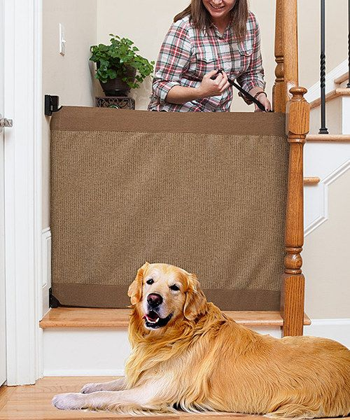 Look at this Mocha Stair Barrier Banister-to-Wall Gate on #zulily today!