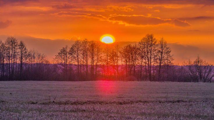 Kraina Wielkich Jezior Mazurskich: Zachód Słońca i chwilę po