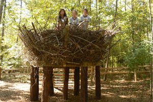 Nature Playground at the Auburn University Louise Kreher Forest Ecology Preserve