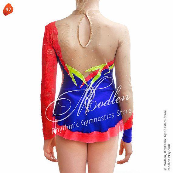 Leotard 42: Rhythmic Gymnastics Leotard Ice Figure by Modlen