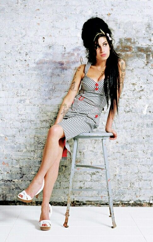 Amy Winehouse photographed for BUST magazine, 2007