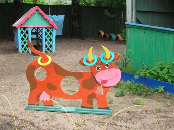 Картинки оборудование на участке детского сада