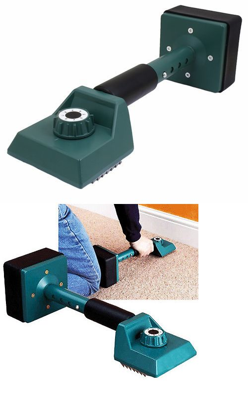 Wall-to-Wall Carpeting 175820: Telescoping Adjustable Carpet Kicker Knee Installer Contractor Remodel Tool Hd -> BUY IT NOW ONLY: $34.95 on eBay!