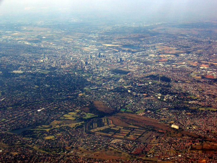 Johannesburg the place of the house of the president