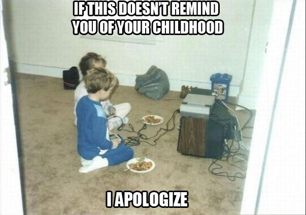 Childhood in the 90's