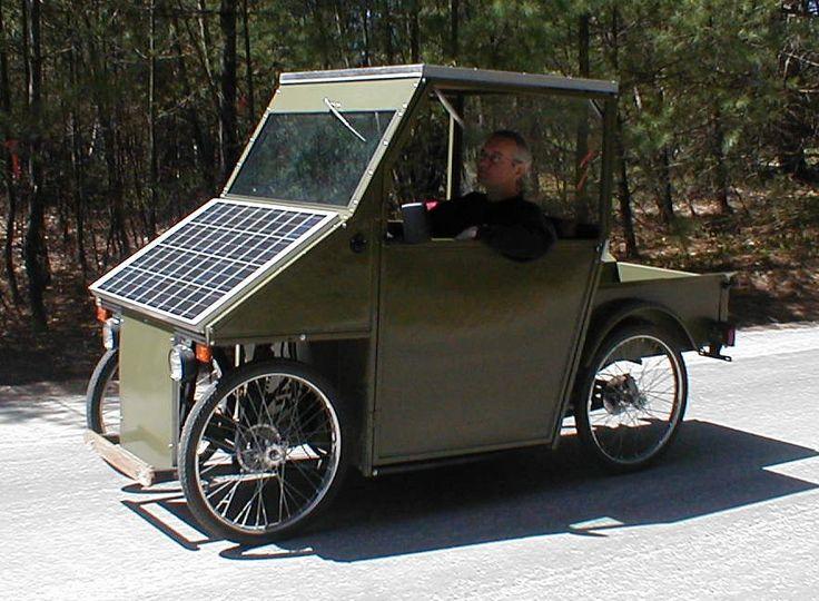 SUNN – DIY Solar Powered Electric Car Kit  #shtf #prepping #solar