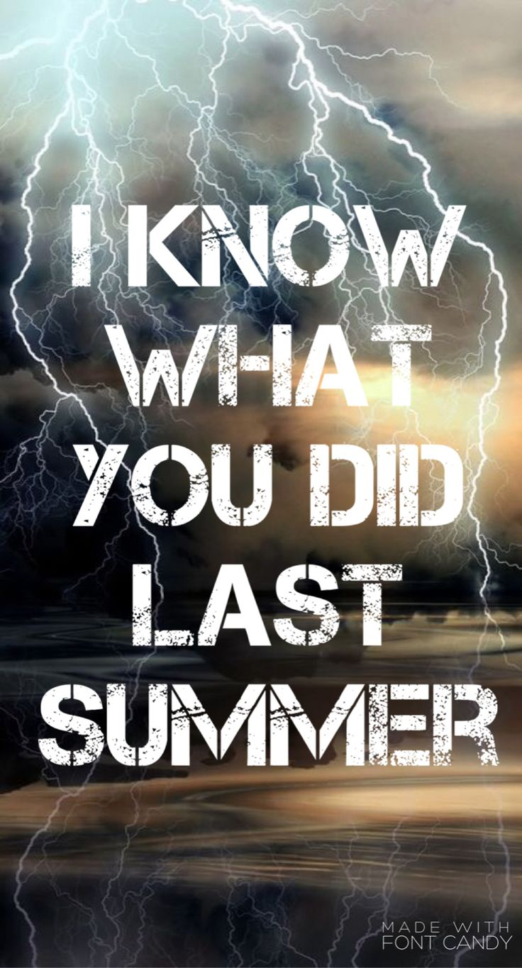 I Know What You Did Last Summer // Shawn Mendes // edit by @MendesAngel13