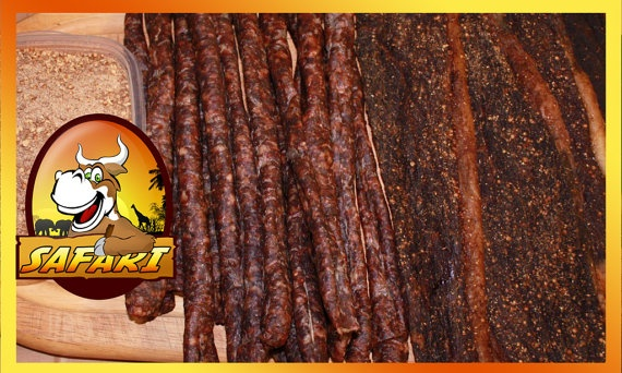 Beef Biltong   South African Jerky 8oz by SafariJerky on Etsy, $8.99