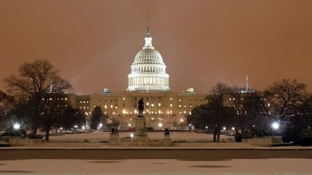 Capitol in the Snow, Washington DC