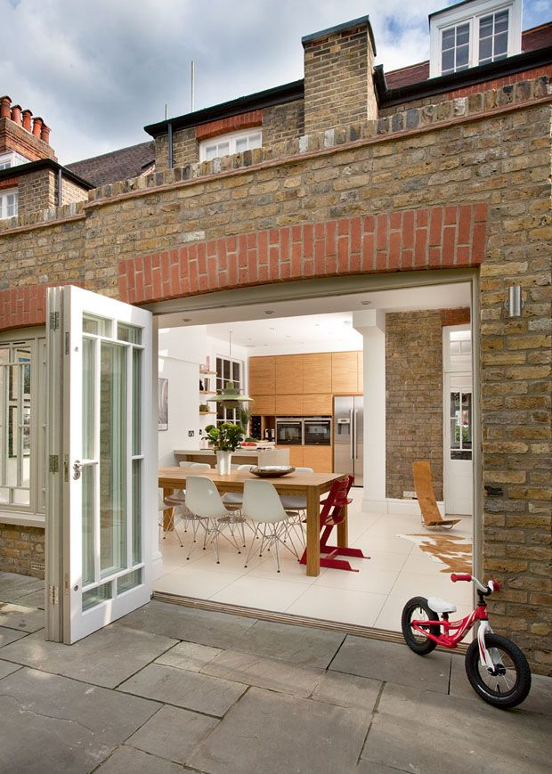 orangery style kitchen extension exterior