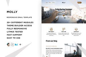 Allison – Responsive Email template