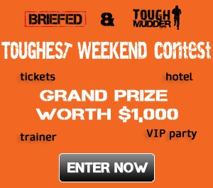 Toughest Weekend Contest. Enter at http://contest.briefed.ca!