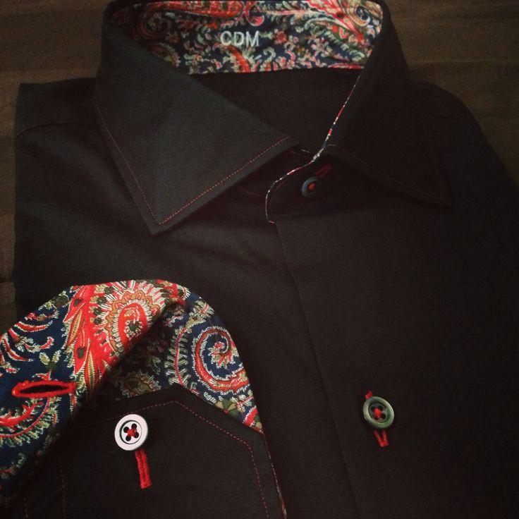 19 best custom tailored shirts images on pinterest for Custom dress shirts charlotte nc