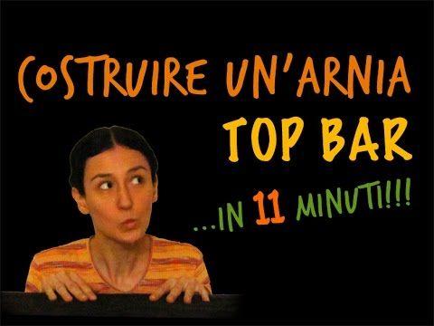 Costruire un arnia Top Bar...  in 11 minuti!!!