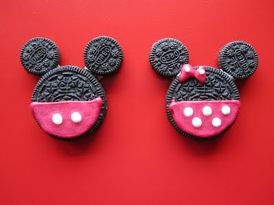Mickey MouseMickey Mouse, Second Birthday, Minis Mouse, Minnie Mouse, Minnie Parties, Oreo Cookies, Graduation Parties, Birthday Ideas, Mickey Oreo
