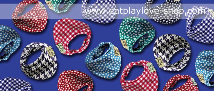 Trendy dribbling bibs   www.eatplaylove-shop.com