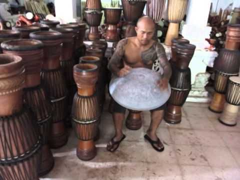 Check out this Drum Factory, My Friend Gopal is the founder and chief Drum Maker,  Boy can he play the Hang Drum.