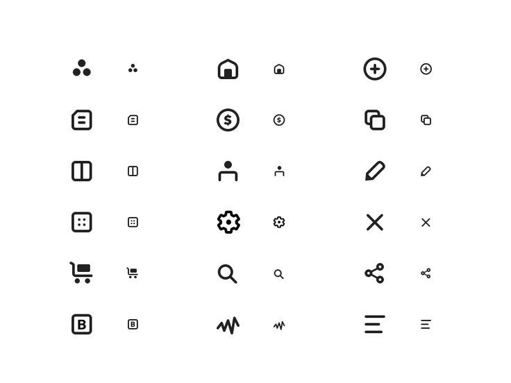 Custom Icon Set II