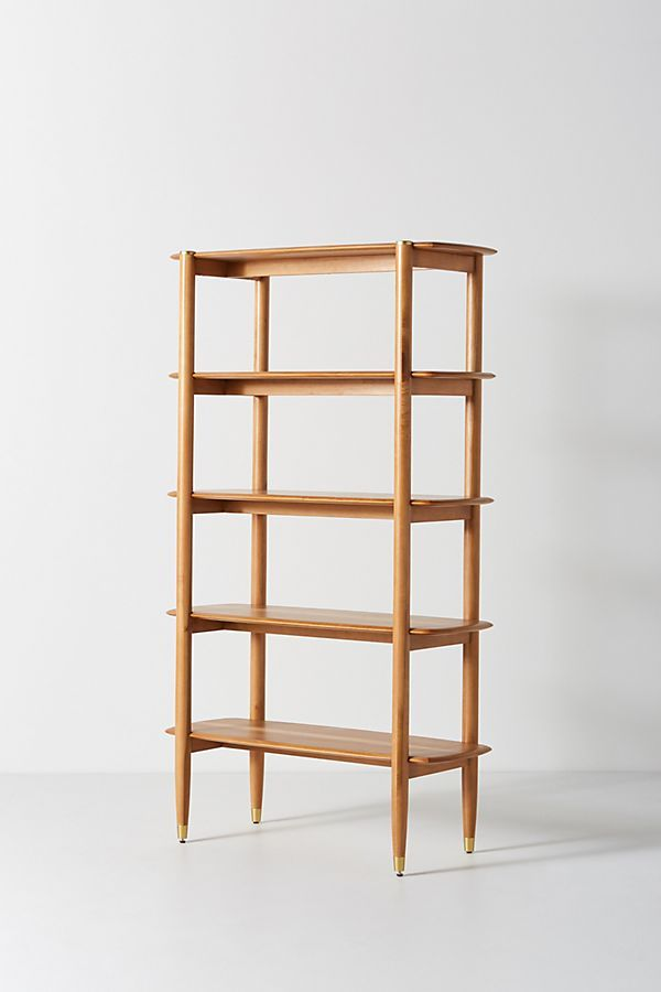 Corbyn Shelving Unit By Anthropologie In Brown Size All Storage Shelves Living Room Shelves Glass Shelves Kitchen