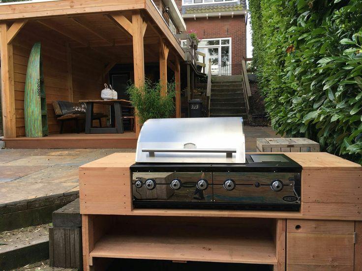 Ligorio Top | #Boretti inbouw | barbecue | #butaan / #propaan | #aardgas | zelf je barbecue inbouwen in je eigen buitenkeuken/meubel ? Met deze luxe bbq kan je alle kanten op en kan je zelf je design bepalen.