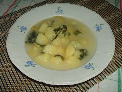 Petrezselymes krumplileves