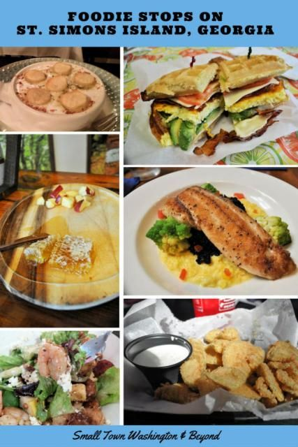 Succulent Wild Georgia shrimp, a slice of honeycomb, and the ultimate breakfast sandwich. Where can you feast on this and more? The charming southern small town of St. Simons Island, Georgia.
