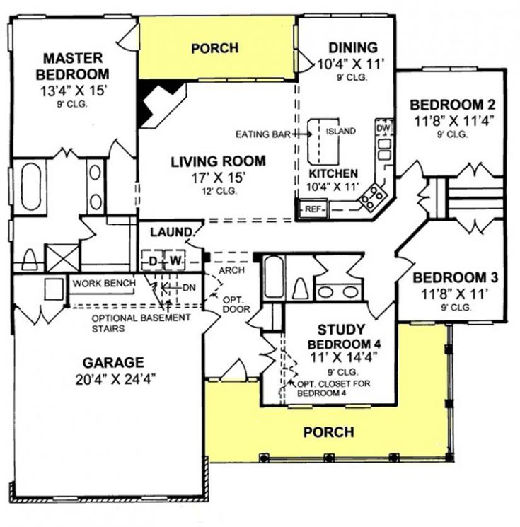 Best 25+ Open Concept House Plans Ideas On Pinterest | Open Concept Floor  Plans, Open Floor Plans And House Plans
