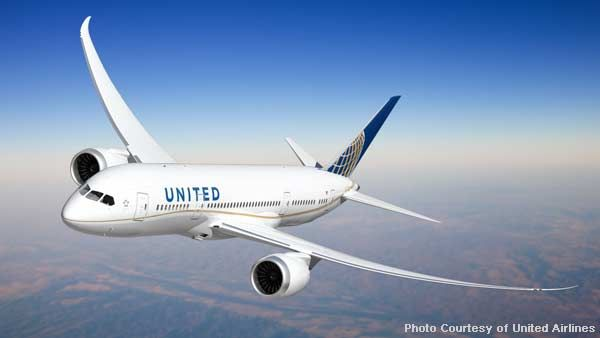 United Airlines Boeing 787-800 Dreamliner with new Livery | Photo: United | Air Travel News