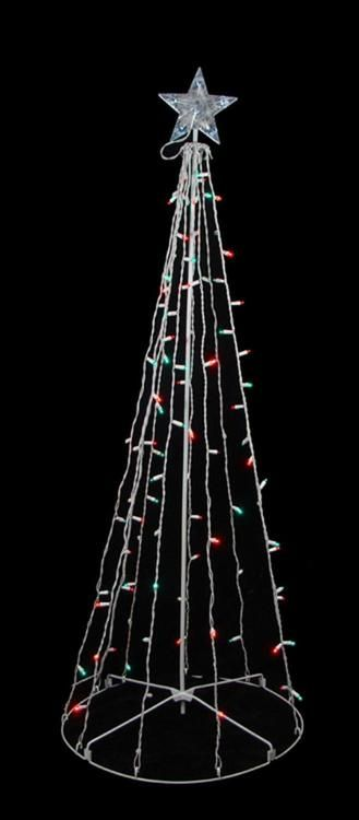 The 25 best outdoor artificial christmas trees ideas on pinterest 5 red green led lighted outdoor twinkling christmas tree yard art decoration 23148639 mozeypictures Images