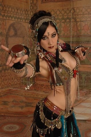 Tribal Fusion dancer, Rachel Brice