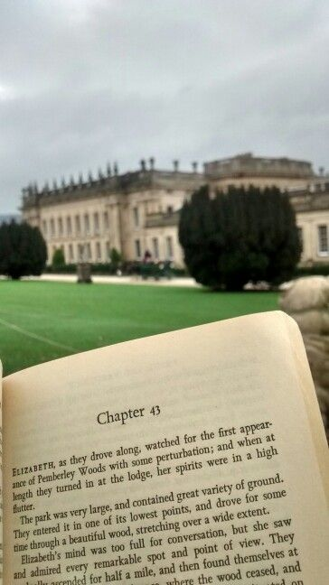 """Chatsworth House, the original inspiration for Pemberley in Jane Austen's novel """"Pride and Prejudice."""" It was used for the exterior scenes for Joe Wright's 2005 film version of """"Pride and Prejudice."""""""