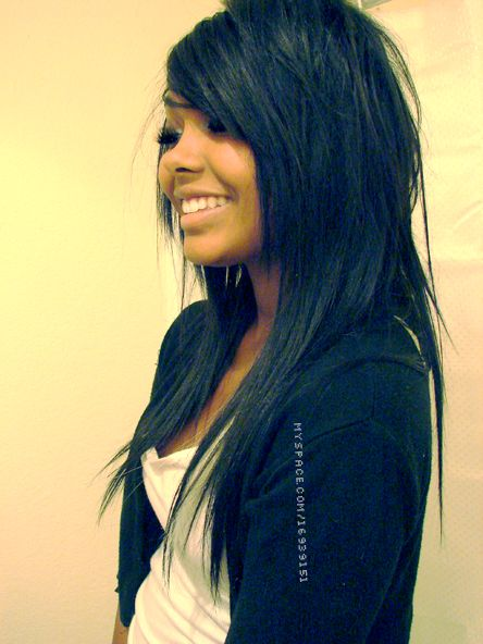 Long Hair Cuts With Side Bangs And Layers.... LOVE!!!