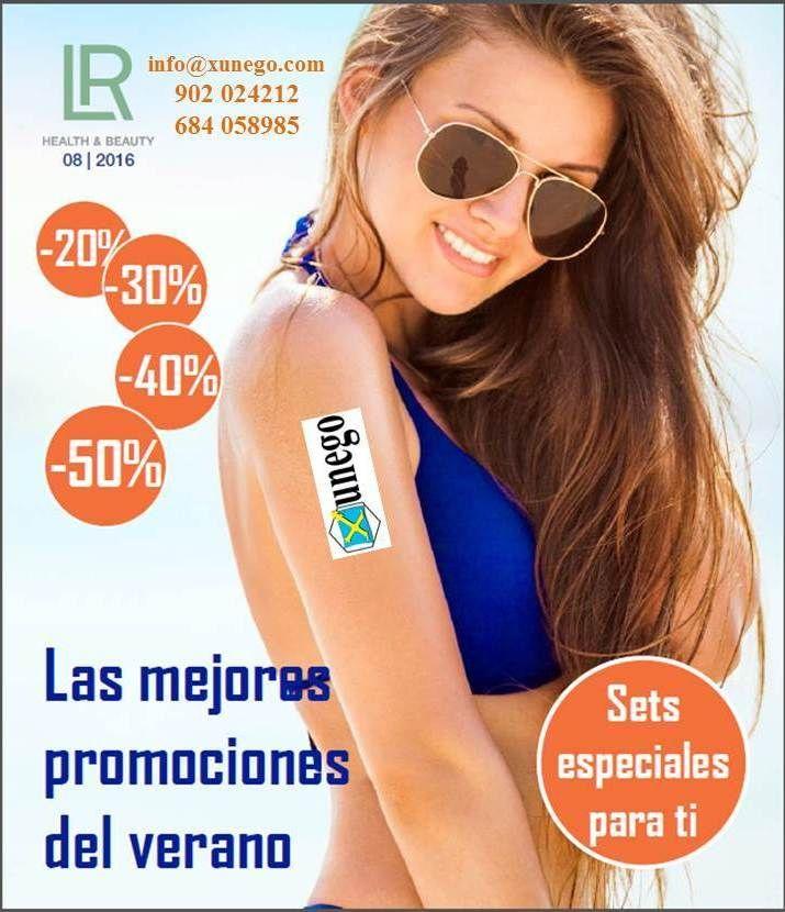 La portada del catálogo de LR Health & Beauty, correspondiente al mes de agosto de 2016.