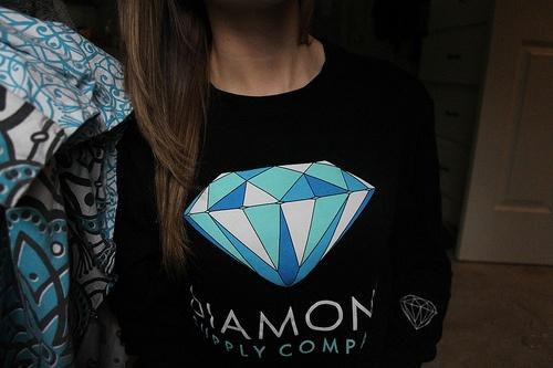 Just got this(: #Diamond Supply Company