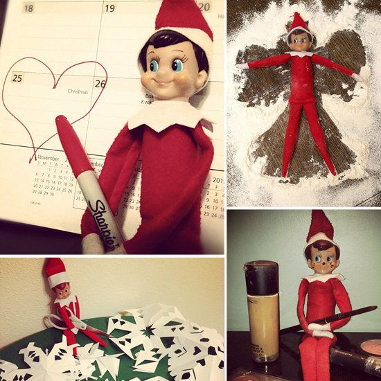 Straight From the North Pole: 15 Inspiring Places to Put Your Elf on the Shelf
