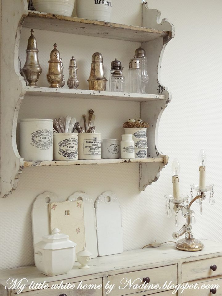 best 10 shabby chic shelves ideas on pinterest rustic. Black Bedroom Furniture Sets. Home Design Ideas