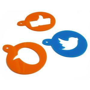 Stencil Social per Cappuccino by Design 185