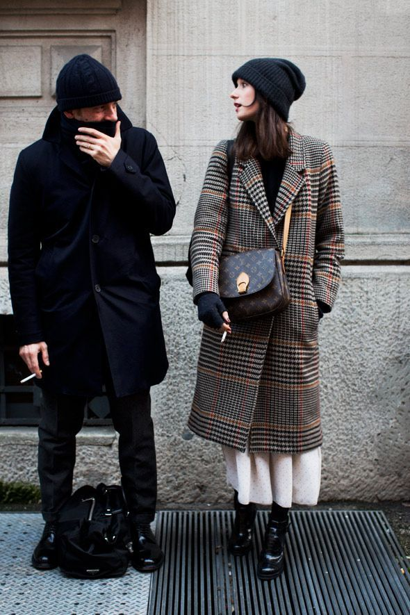 Winter couple look styiling