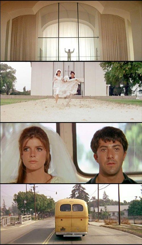 The Graduate, 1967 (dir. Mike Nichols). #hoffman #movie #film