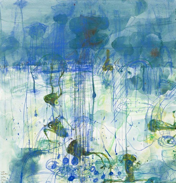 John Olsen - Wet Season, 1994, watercolour and pastel on paper